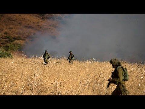 إسرائيل تقصف الجولان ردا على سقوط 4 صواريخ سورية