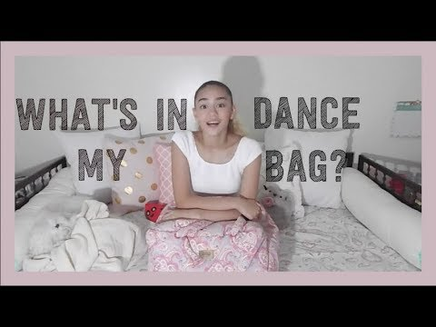 What's In My Dance Bag?!? || Sabine Burket