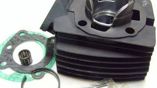 Remplacement cylindre piston moteur 2 temps