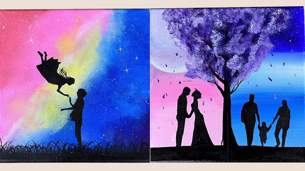 Lovely Love Story Painting Ideas Painting Love Story Easy Painting Stayhome Withme Youtube I love painting and creating custom pieces of artwork for my home and room makeovers. lovely love story painting ideas painting love story easy painting stayhome withme