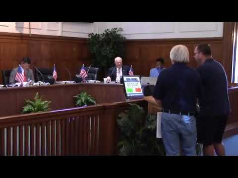 6. Bobby McKenzie water trails and rivers; Mayor Gayle on Alapaha River