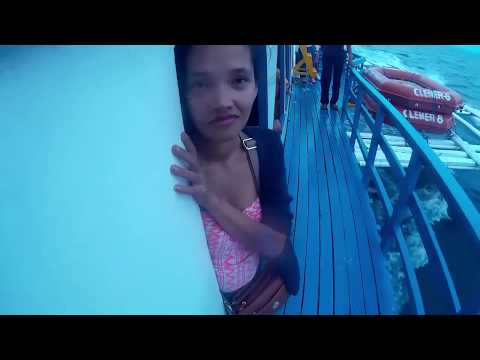 Very Windy Boat Ride to Cebu from Getafe Bohol - PART 1