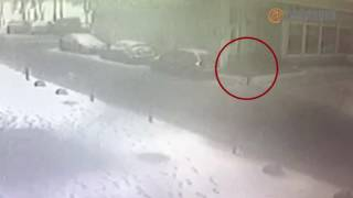 Видео последних секунд перед взрывом на Кима