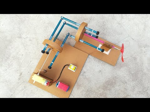 DIY Gearless Angular Transmission System From Cardboard
