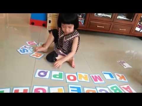 สื่อการสอนปฐมวัย :: ฝึกจำตัวอักษรภาษาอังกฤษ A - Z เด็กปฐมวัย อนุบาล
