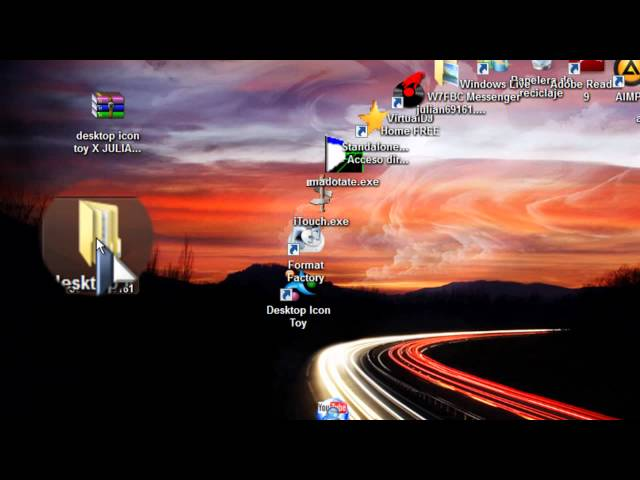 como descargar desktop icon toy para windows 7 con serial Videos De Viajes