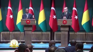 Guinée - Visite d'Etat du PR Alpha Condé en Turquie - Film de la rencontre avec le PR Erdogan