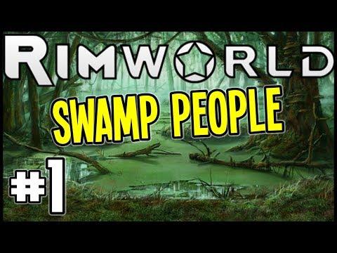 """RimWorld Beta 18 - """"Shacking Up In The Donkey Swamp!"""" - Rimworld Gameplay - Episode 1"""