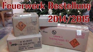 Unboxing Röder Feuerwerk Bestellung 2014/2015 [1080p Full HD]