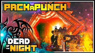 DESBLOQUEAR PACK-A-PUNCH Y MEJORAR ARMAS || DEAD OF THE NIGHT (Black Ops 4 Zombies Guía/Tutorial)