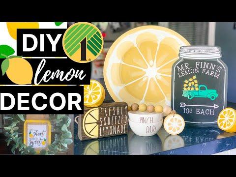 diy-dollar-tree-lemon-decor-🍋