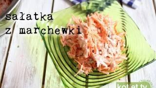 Sałatka z marchewki do obiadu - Kotlet.TV