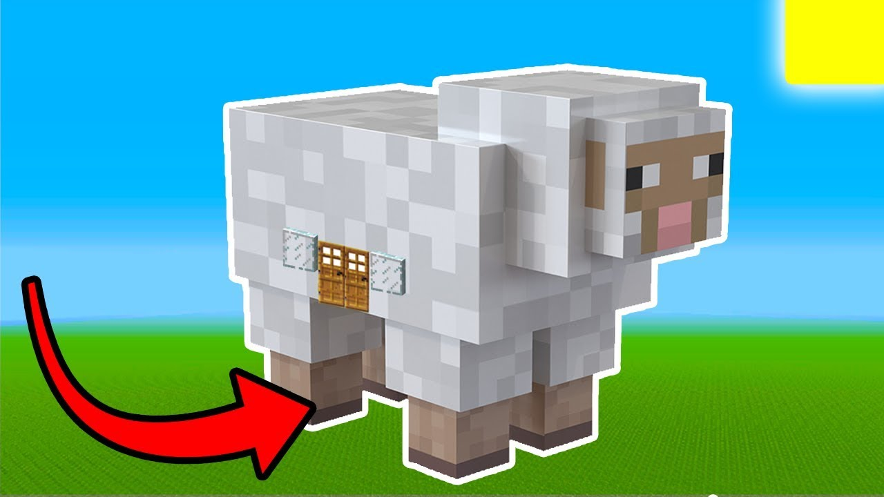 Minecraft Tutorial: How To Live Inside a Sheep In