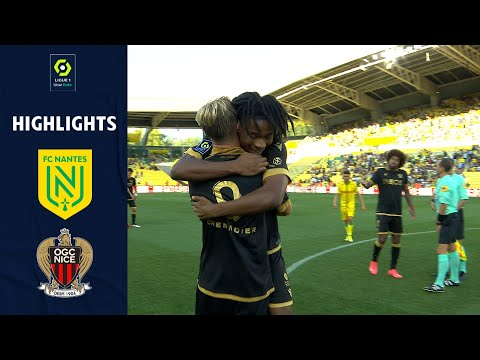Nantes Nice Goals And Highlights