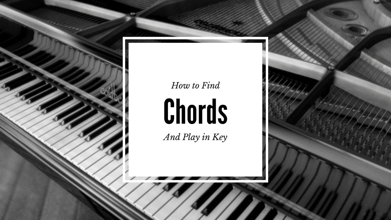 How to Play your beats in Key and Find Chord easy trick