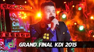 "Ridho Rhoma Feat. Ayu Ting Ting "" Cuma Kamu "" Grand Final KDI 2015 (4/6)"