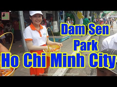 Vietnam Travel 2017 - Dam Sen Amusement Park HO CHI MINH CITY