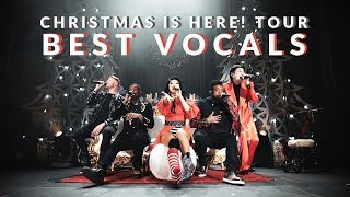 Pentatonix BEST VOCALS - Christmas Is Here! Tour