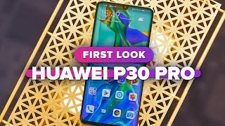 Huawei P30 Pro first look
