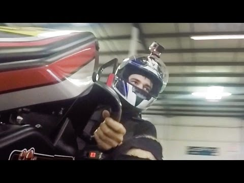 GO KART RACING CRASH! (7.11.15 - Day 2264)