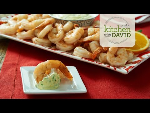 How to Make Citrus-Steamed Shrimp with Orange-Tarragon Aioli