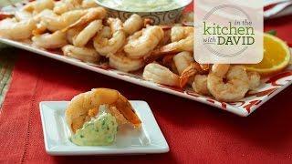 How To Make Citrus-steamed Shrimp With Orange-tarragon Aioli