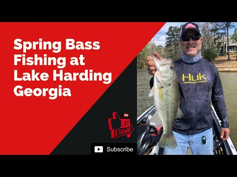 Spring Bass Fishing At Lake Harding Georgia.