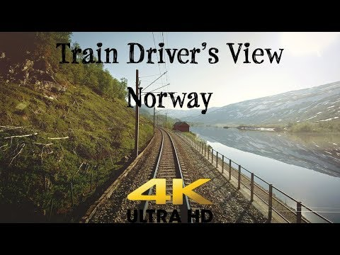 Train Drivers View: From Voss to Flåm with summer Love in 4K UltraHD