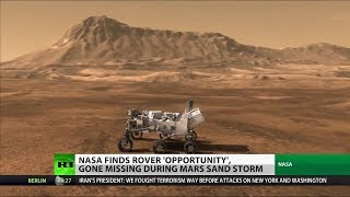 Missed 'Opportunity'? NASA Finds Missing Mars Rover, Trying to Wake It
