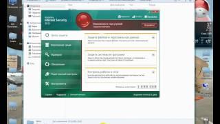 Видеоролик о том как установить новый скин для KIS 2011