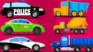 Street Vehicles | Car Cartoon Videos For Kids by Kids Channel