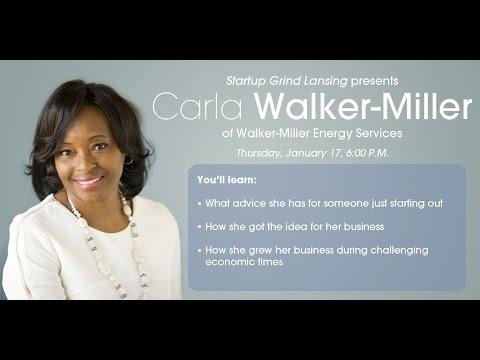 Carla Walker-Miller (Walker-Miller Energy Services) at Startup Grind Lansing