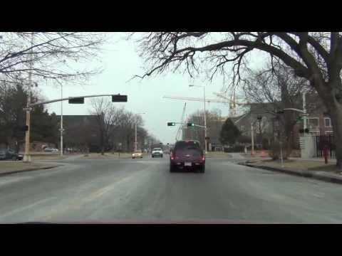 Car Camera - Lincoln, NE - NDOR-HQ to UNL City Campus . 2014 ( ネブラスカ州リンカーン )