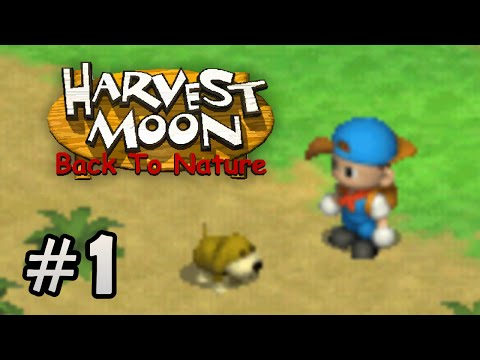 Harvest Moon Back To Nature - Inicio #1
