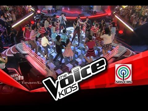 The Voice Kids Philippines Battles Team Sarah sings Neon Lights