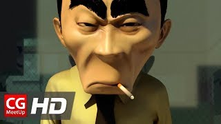 """CGI Animated Short Film: """"Quitter"""" by Jeffrey Shea   CGMeetup"""