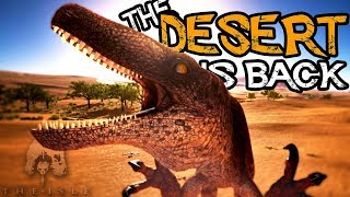The Isle - Utah Raptor Pack Survives In The DESERT! Return Of The GRIM EXPANSE!! - Gameplay