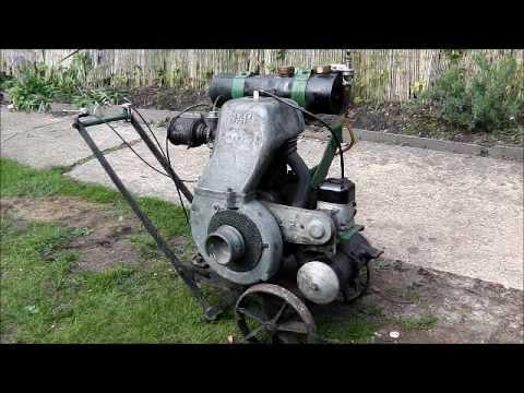 J.A.P 500cc Dry Sump Stationary Engine