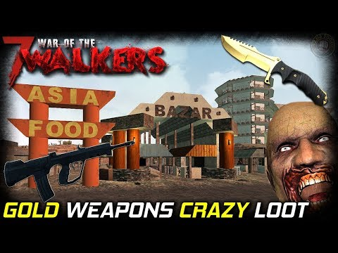 Day One: Amazing   War Of The Walkers MOD   7 Days To Die Gameplay   EP1