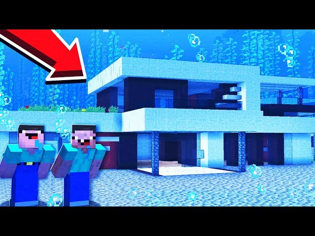 2 NOOBS BUILD AN UNDERWATER MANSION!