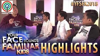 YFSF Kids 2018 Highlights: TNT Boys as Donna, Regine & Mikee | Week 11 Mentoring Session