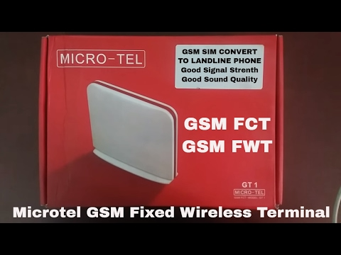 Microtel GSM FCT/FWT (Fixed Wireless Termainal)