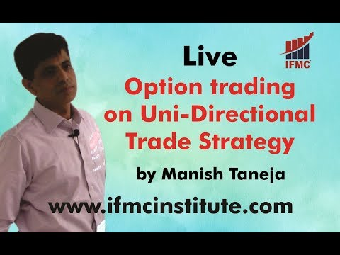 Live Option trading on Uni-Directional Trade Strategy ll Positional Trading ll