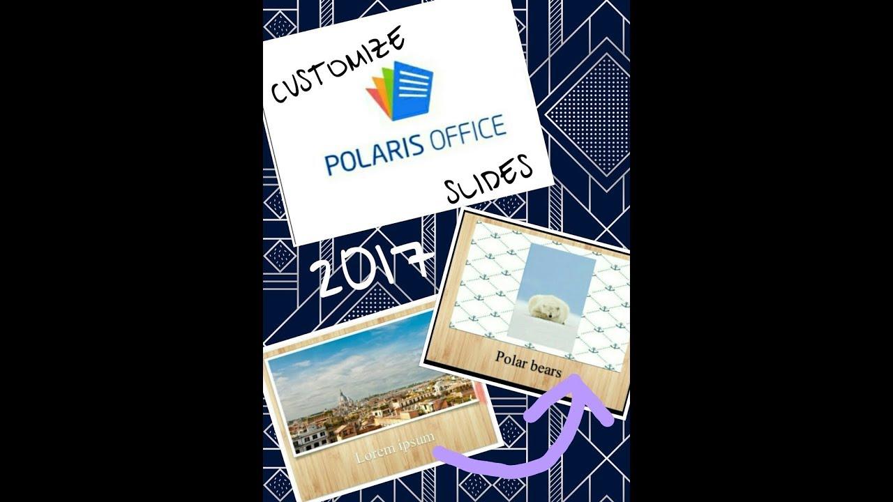 polaris office 5 templates
