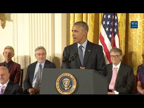 Obama's Final Medal of Freedom Awards- Full Ceremony