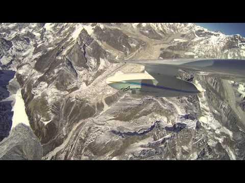 Mit dem Motorsegler im Himalaya (Lange Version)