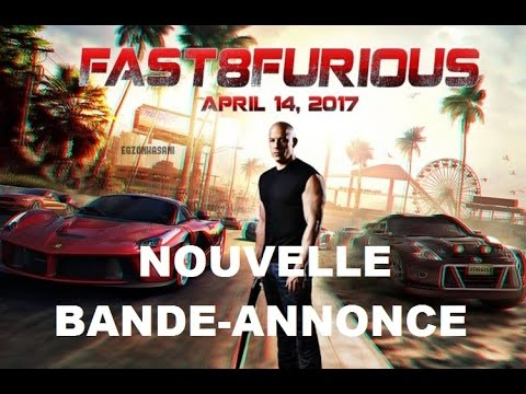 fast and furious 8 bande annonce vf youtube. Black Bedroom Furniture Sets. Home Design Ideas