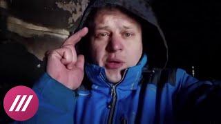 Востриков вышел в прямой эфир из ТЦ «Зимняя вишня»