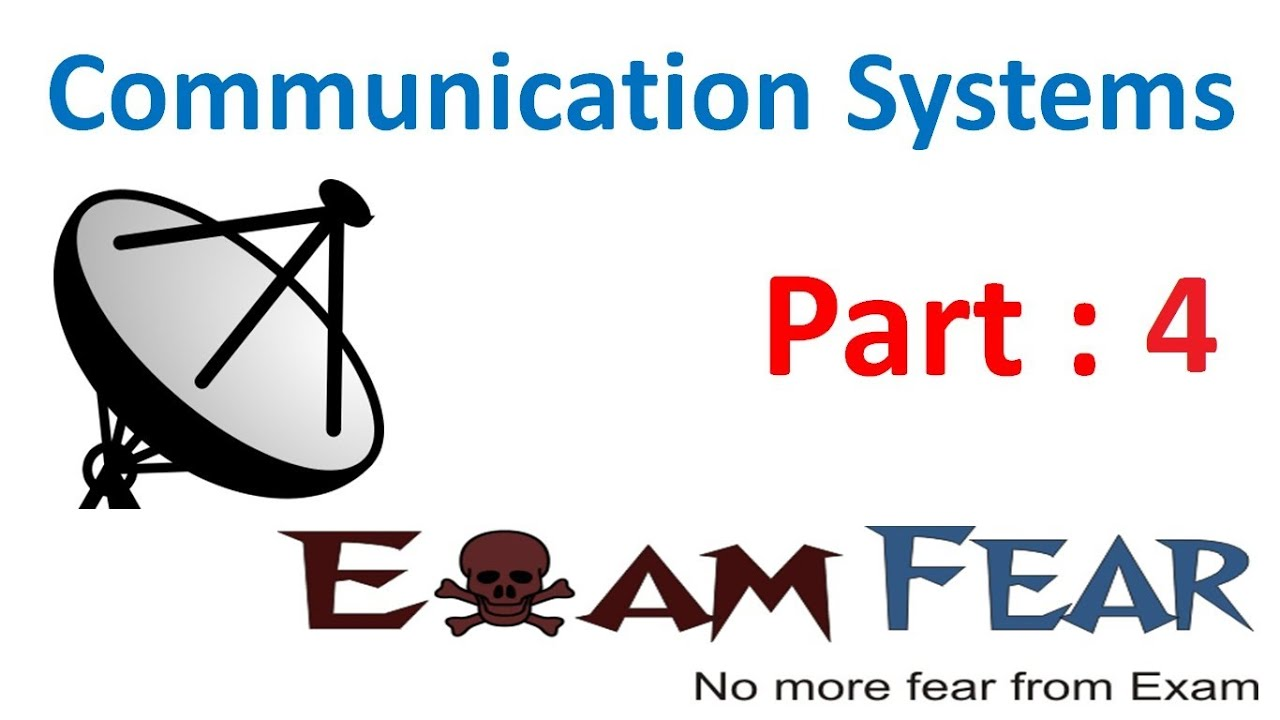 physics communication systems part 4 block diagram of communication system cbse class 12 [ 1280 x 720 Pixel ]