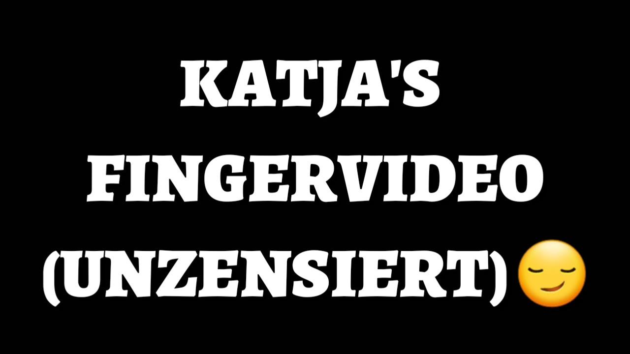 Katja krasavice fingervideo